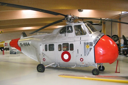 Elicottero S 55 : Danmarks flymuseum sikorsky s c
